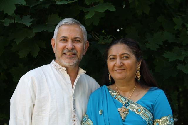 Natver & Vina Mehta
